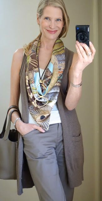 How To Wear a Scarf With a Sleeveless Dress