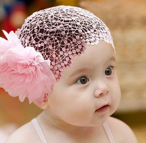 Gorgeous And Cute Baby Headband Designs