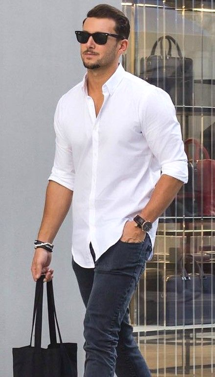 4 Ways To Wear A White Shirt Styled By Sally