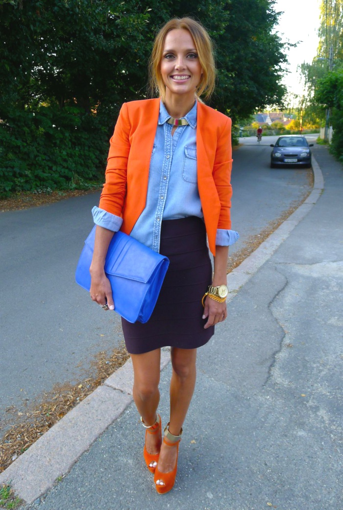 55 Orange Outfit Ideas That Make You Look Young And Fresh