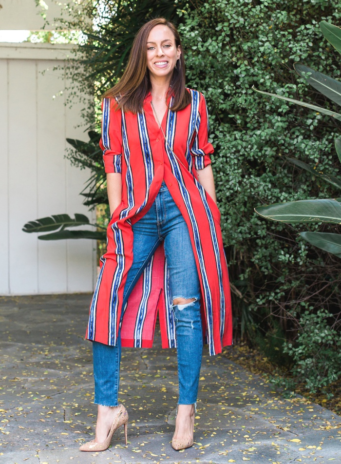 How To Wear A Shirt Dress Day To Night Sydne Style