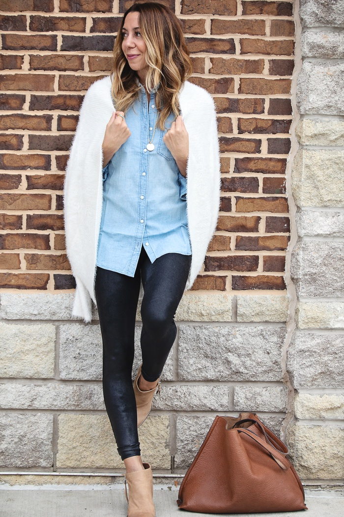 How To Wear Leather Leggings Part 1 The Motherchic