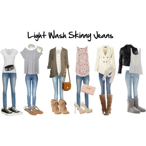 Light Wash Jeans All Year