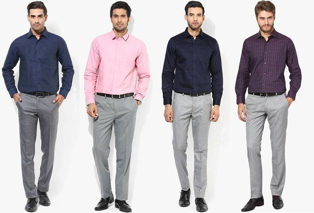 Mens Guide To Matching Pant Shirt Color Combination