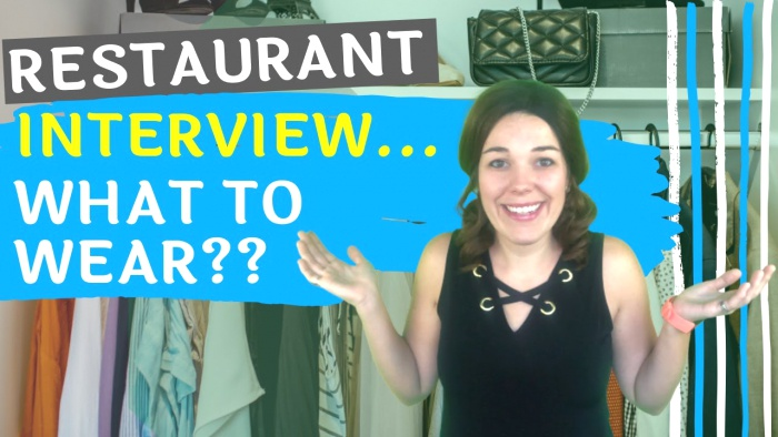 Restaurant Interview What To Wear Clothes Hair And