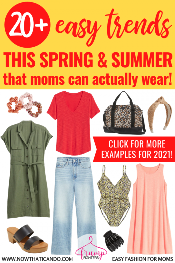 Style Trends For Springsummer That Moms Can Actually Wear
