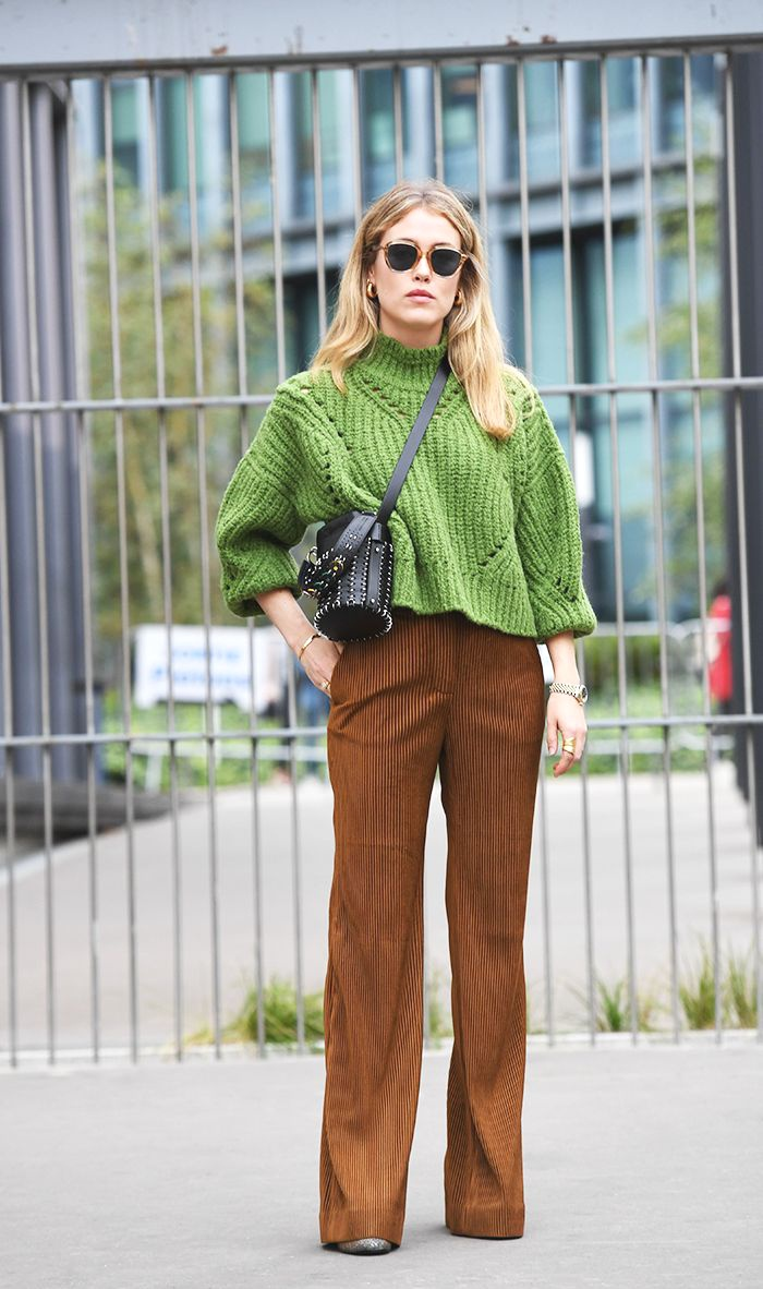 This Is Exactly What To Wear With Corduroy Pants