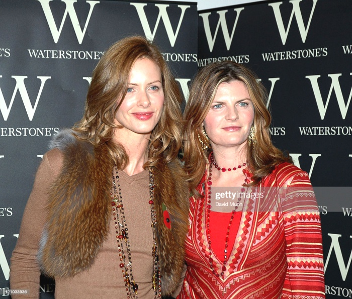 Trinny Woodall And Susannah Constantine During Trinny And