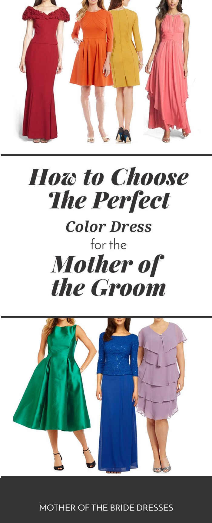What Color Should The Mother Of The Groom Dress Be