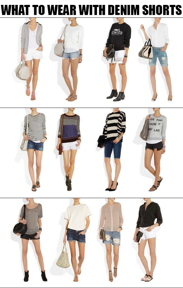 What To Wear With Denim Shorts