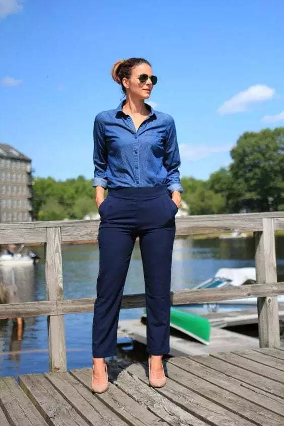 A Complete Style Guide On What Goes With Navy Blue Pants