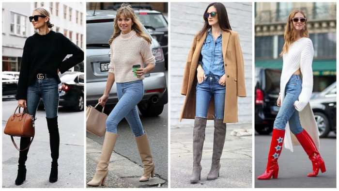Casual Outfits With Knee High Boots Clearance Sale Up To Off
