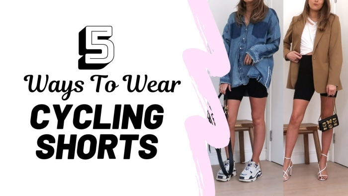 How To Style Cycling Shorts