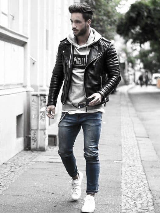 How To Wear A Leather Jacket For Men