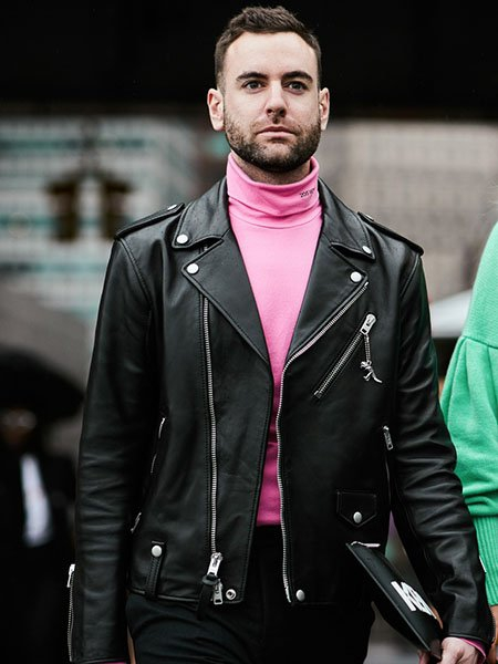 How To Wear A Leather Jacket Mens Style Guide