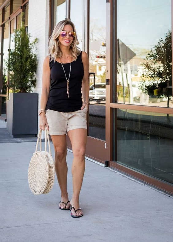 How To Wear Khaki Shorts For Women Perfect Outfits To Try Now