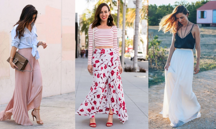 How To Wear Long Skirts Best Long Skirt Outfit Ideas