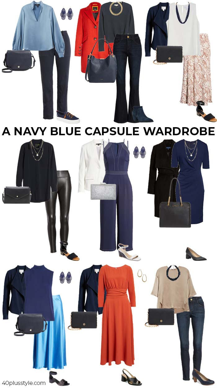 How To Wear Navy Blue Color Palettes And Styles For You To Choose