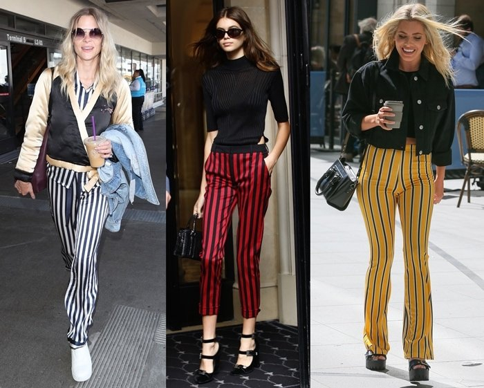 How To Wear Striped Pants Chic Outfit Ideas From Fashion Bloggers