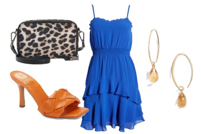 Looks What Color Shoes To Wear With A Royal Blue Dress