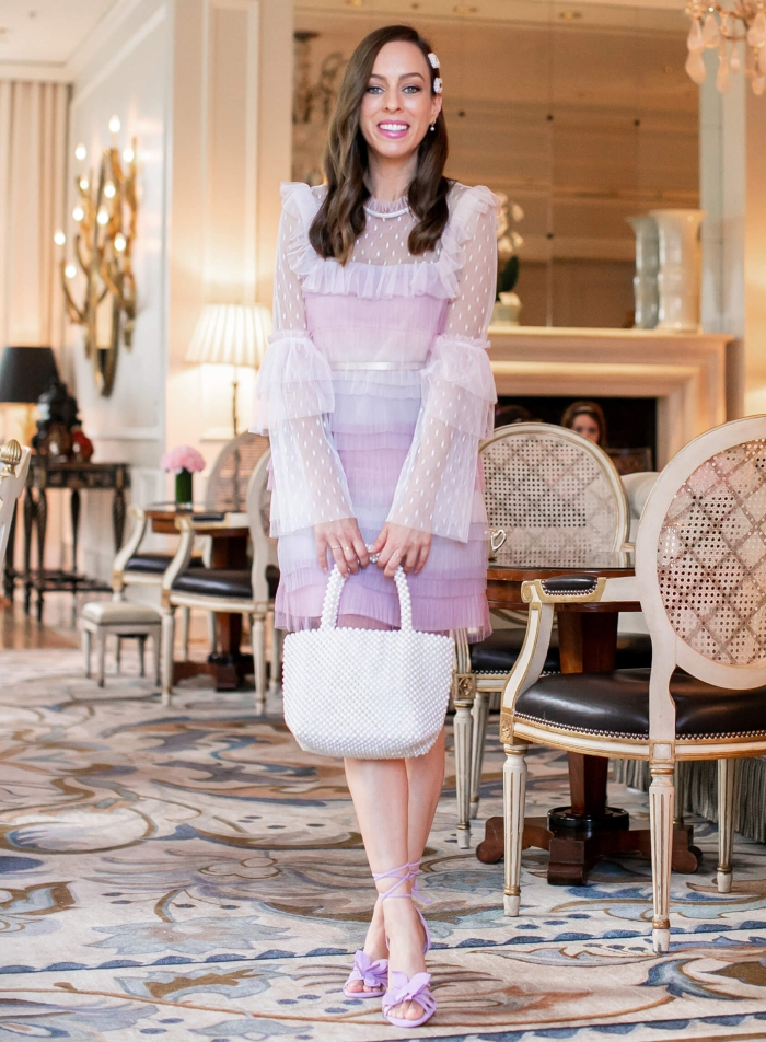 Tulle And Pearls For Afternoon Tea At The Peninsula