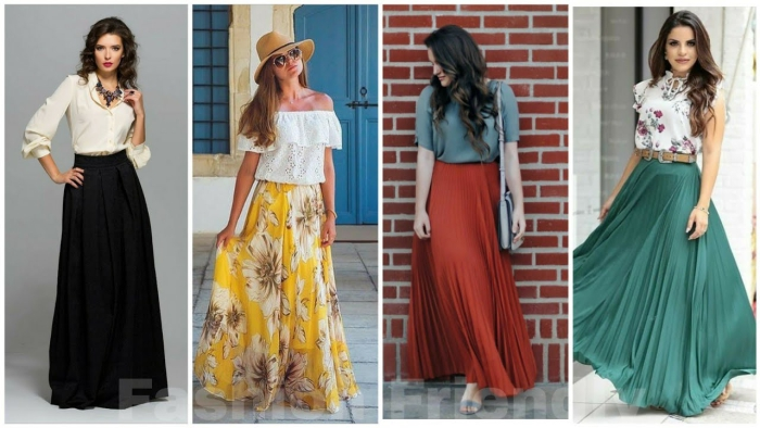 Ways To Wear Long Skirts