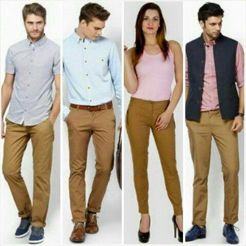 What Color Shirt Goes Well With Khaki Pants