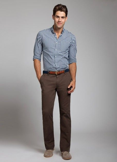 What Color Shirt Should I Wear With Dark Brown Pants