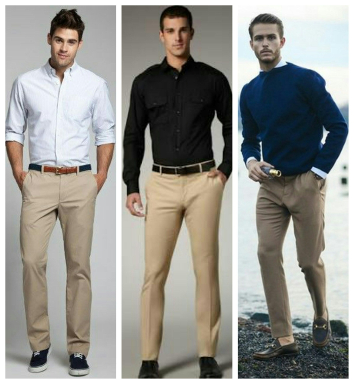 What Color Shirt Should I Wear With Tan Pants