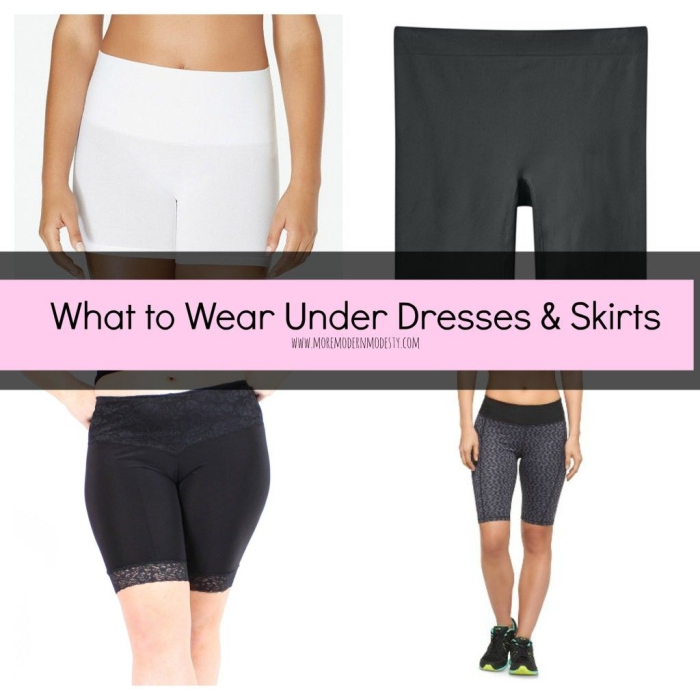 What To Wear Under Skirts And Dresses In The Summer